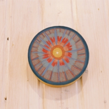 Blume der Seele, Öl auf Holz, 15 cm