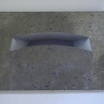 "Mon Bretagne, ""Friedl. Bunker"" Serigrafieunikat u. gem. Techniken auf Karton, 1984, 46x58"