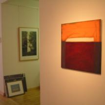 """Gesicht"", Ö, Ölkreidel a.Lw., 1997, 72,5x70"