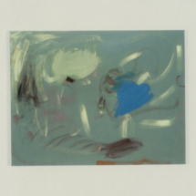 """Grüner Grund"", Öl auf Lw., 60x80"