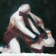 menschen+2006+Öl+auf+Leinwand+50+x+70+cm