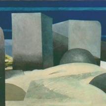 mon-bretagneMon Bretgne, Landschaft kolossal, Serigrafieunikat auf Karton,, 1984, 46x58