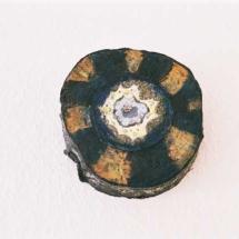 Seelenauge, Öl auf Holz, 15 cm